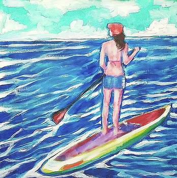Paddle On by Kimberly Dawn Clayton
