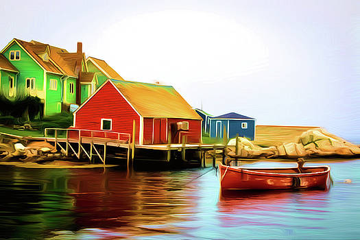 Peggy's Cove by Andre Faubert