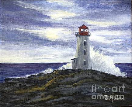 Peggy's Cove by Donna Muller