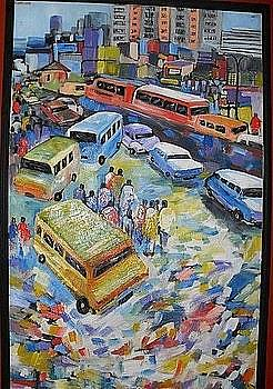 People traffic by Benedict Adedipe
