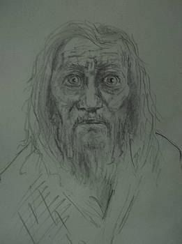 Portret De Batrin by Covaliov Victor