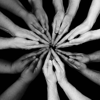 Tina Gutierrez - Prayer Hands. Colors of Women