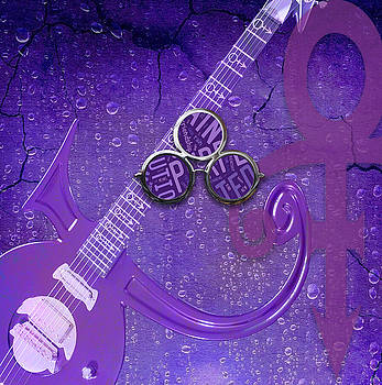 Prince Purple Rain by Marvin Blaine