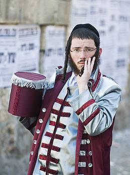Purim in Mea Shearim by Kobby Dagan