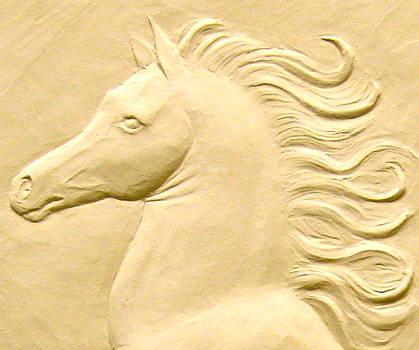 Indomitable Spirit, detail by Deborah Dendler