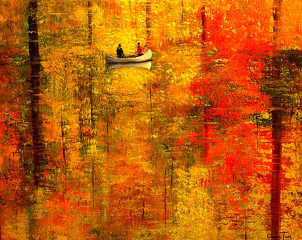 Reflections of Autumn V by Connie Tom