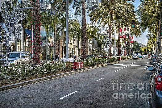 Rodeo Drive Beverly Hills by David Zanzinger