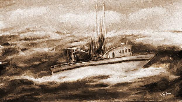 Barry Jones - Rough Seas