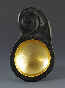 Sacred Spoon of the Pemaquid Rock People by Jacques Vesery