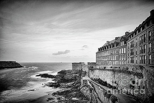 Saint-Malo in Early Morning by Colin and Linda McKie