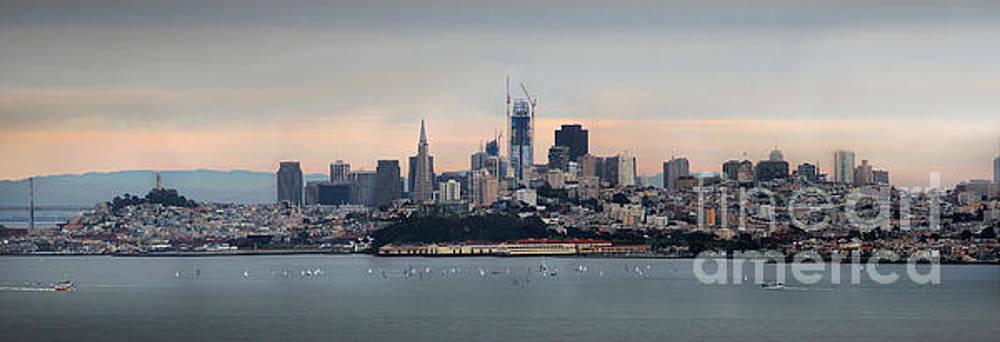 San Francisco Skyline by Wernher Krutein
