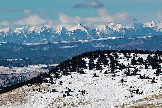 Steve Krull - Sangre de Cristo Mountains in Winter