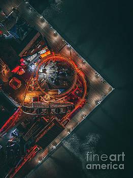 Santa Monica Pier  by Art K