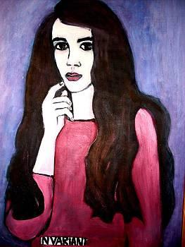 Selfportrait by Elena Buftea