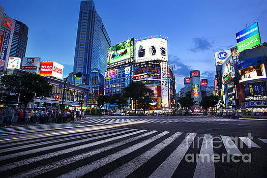 Shibuya Crossing by Ben Johnson