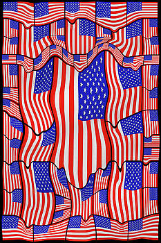 Soft American Flags  by Mike McGlothlen
