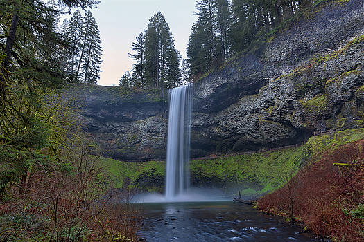 South Falls at Silver Falls State Park by David Gn