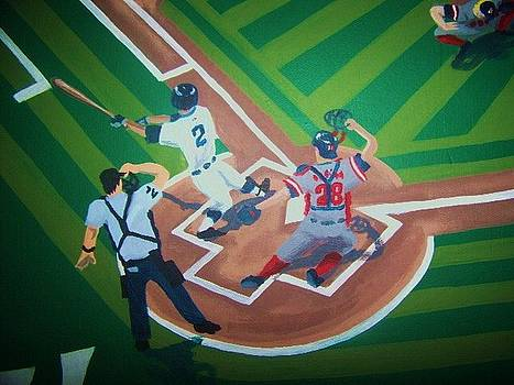 Sox vs Stripes Close Up by Rory Moorer