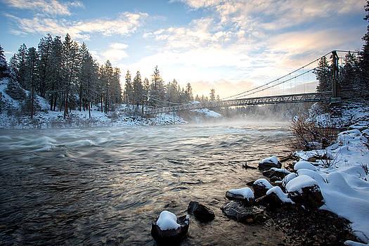 Spokane River by James Richman