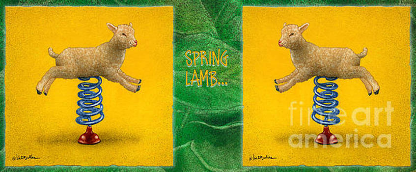 Will Bullas - spring lamb...