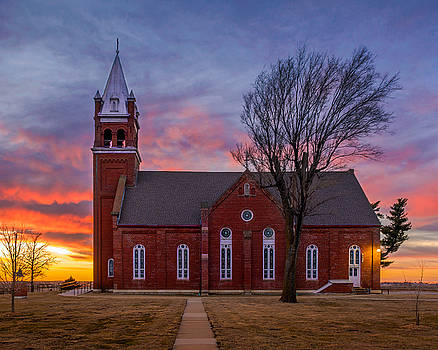 St. Benedict's Church by Mark McDaniel
