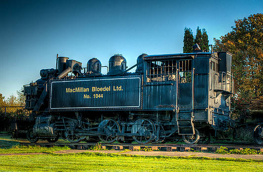 R J Ruppenthal - Steam Locomotive 1044