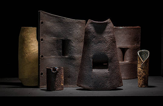 Still Life - Ceramic Vessels by William Sulit