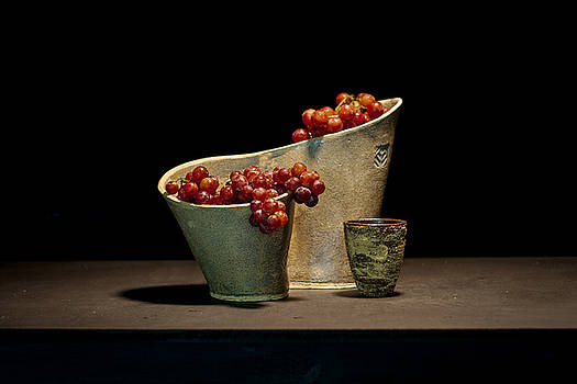 Still Life with Grapes by William Sulit