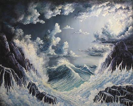 Stormy Sea by John Cocoris