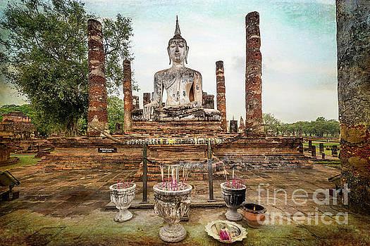 Sukhothai Buddha by Adrian Evans