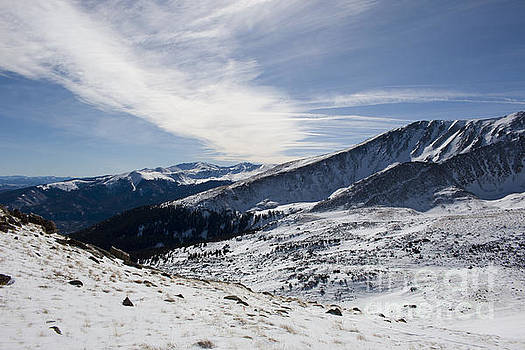 Steve Krull - Summit of Mount Elbert Colorado in Winter
