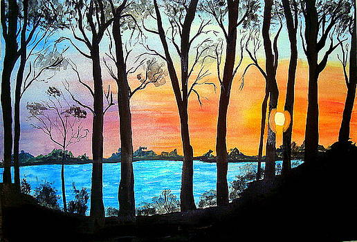 Sunset by Saran A N