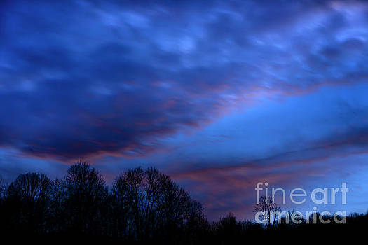 Sunset Afterglow by Thomas R Fletcher