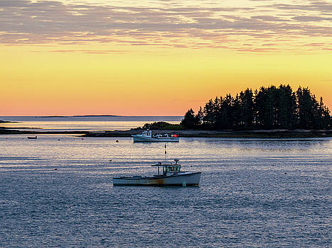 Sunset Down East Maine by Trace Kittrell