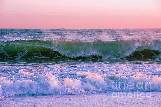 Sunset East Beach by Steven Natanson