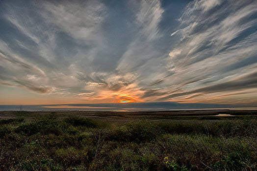 Sunset on the Bay by Robert Brown