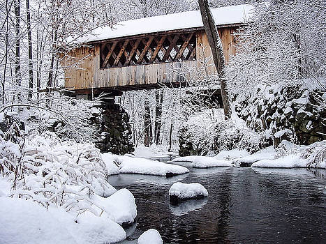 Tannery Hill Covered Bridge by Robert Clifford