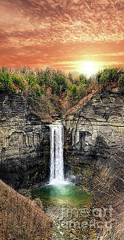 Taughannock Falls, Ithaca, New York by Amy Cicconi