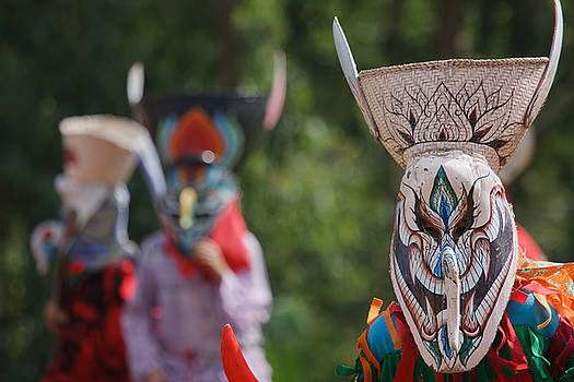 Thai masked festival by Buchachon Petthanya