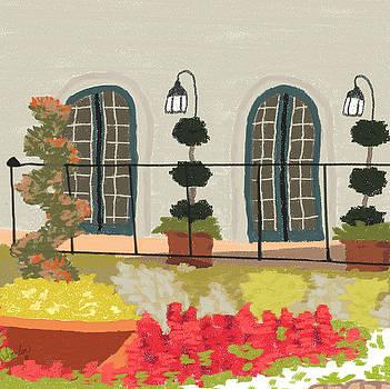 The Balcony by Rosalie Scanlon