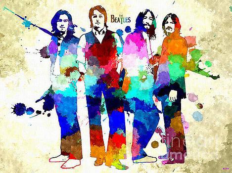 The Beatles Grunge by Daniel Janda