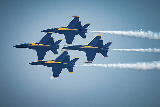 The Blue Angels by Chris McKenna