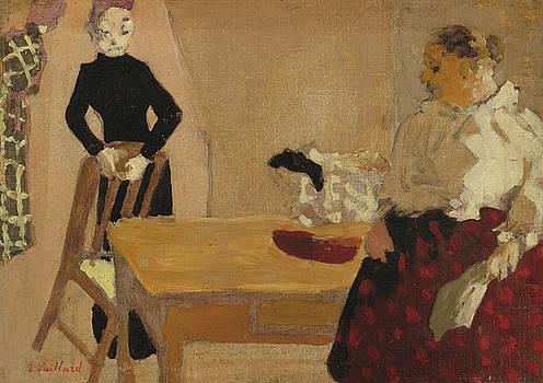 The Conversation by Edouard Vuillard