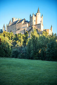 Eduardo Huelin - The famous castle Alcazar of Segovia Spain