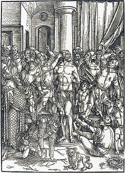 Albrecht Durer - The Flagellation