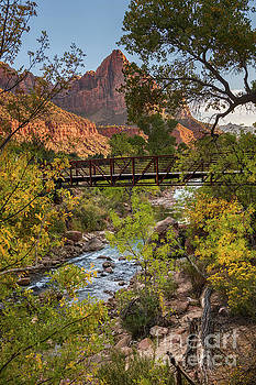 The Iconic Watchman in Zion National Park by Jamie Pham