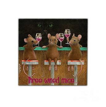 Will Bullas - three wined mice...