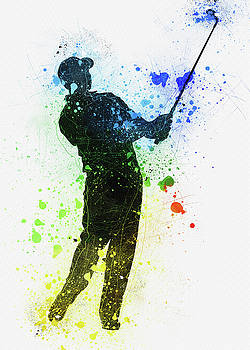 Tiger Woods by Don Kuing