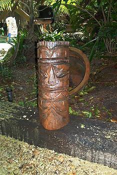 Tiki Figurine by Barry Combess
