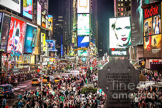 Julian Starks - Time Square at night